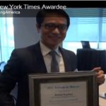 Pinoy Nurse Honored at The Big Apple