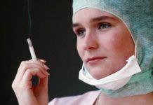 nurses who smoke