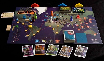 Pandemic board game + nurses gifts