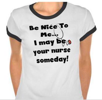 Be Nice Nurse T-shirt