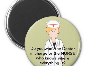Funny Nurse Magnets