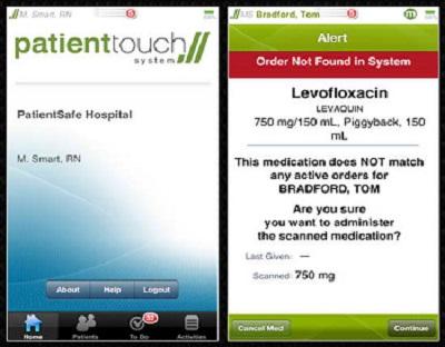 PatientTouch  + medical apps for nurses