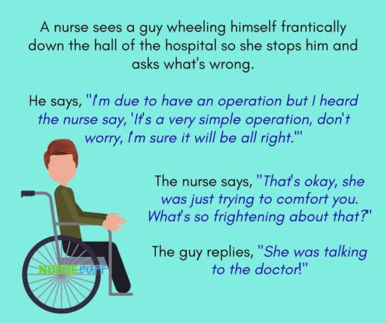 funny nurse joke