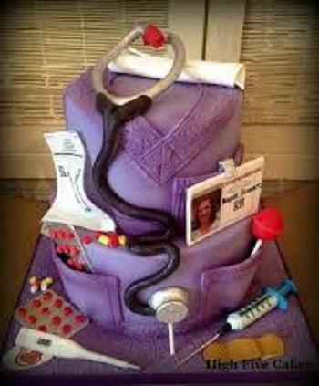 nurse cake ideas