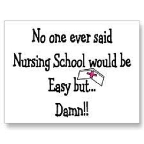 nurse quotes about nursing school