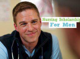 nursing scholarships for men