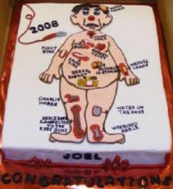 nursing themed cakes