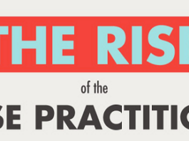 the rise of the nurse practitioner infographic