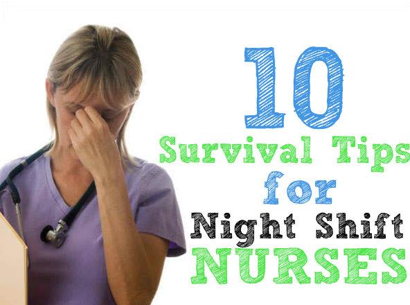 survival tips for night shift nurses