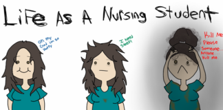funny signs that you're a student nurse