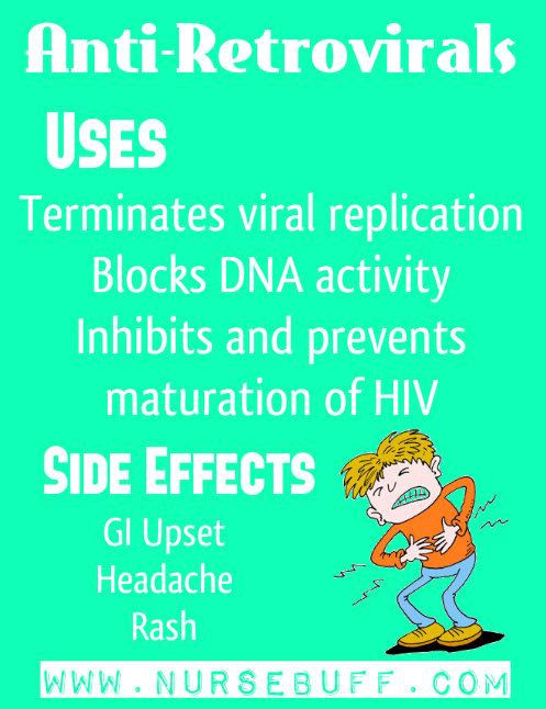 antiretrovirals nursing mnemonics