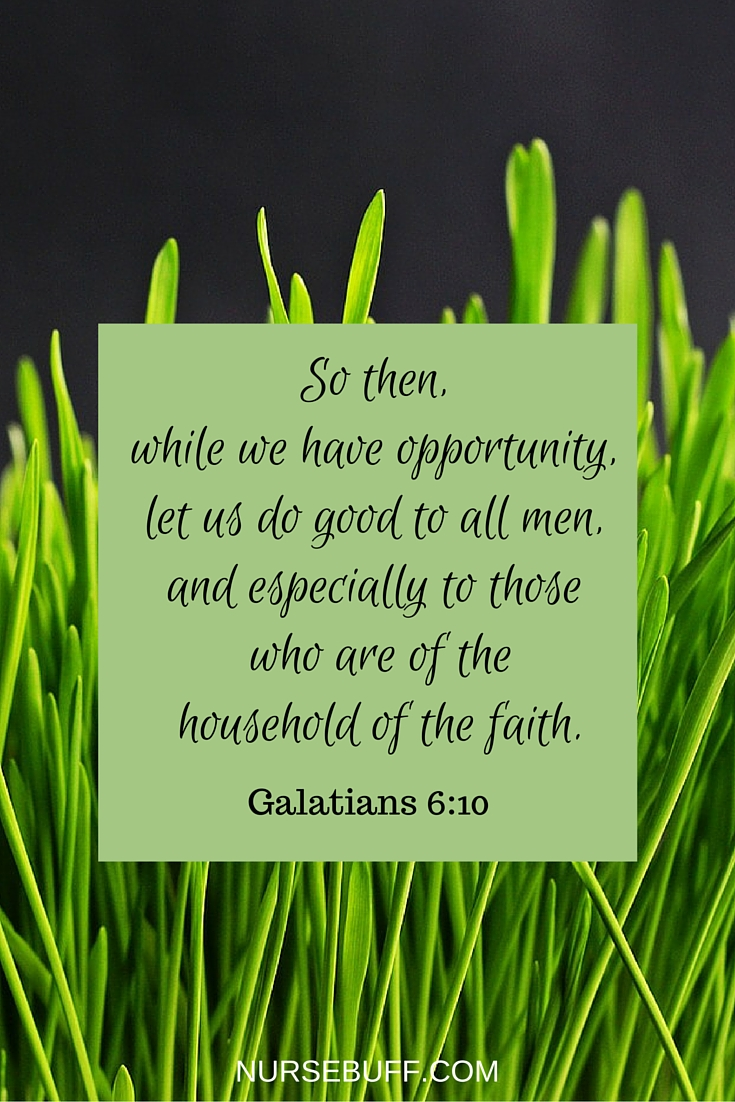 bible verse for nurses