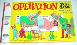 Hasbro Operation Skill Game 2003 Buzzer & Light Only