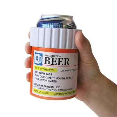 Big Mouth Toys Prescription Bottle Drink Kooler