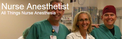 Nurse Anesthetist blog