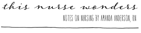 This Nurse Wonders