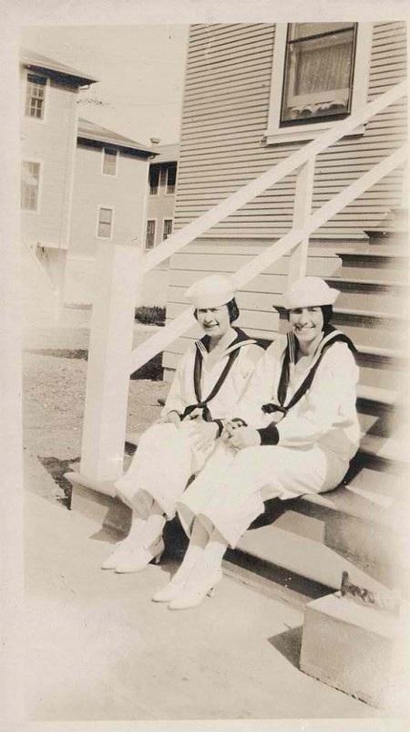 Vintage Sailor Nurses in High Heels.