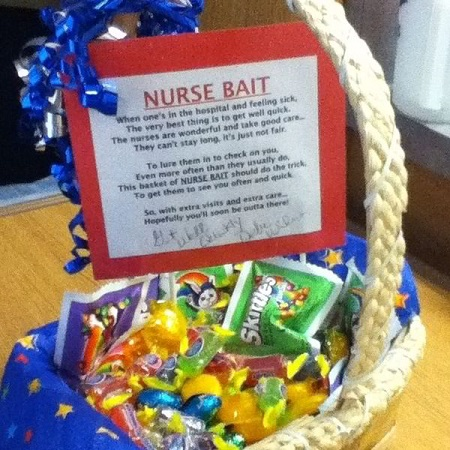candy gift basket ideas for nurses