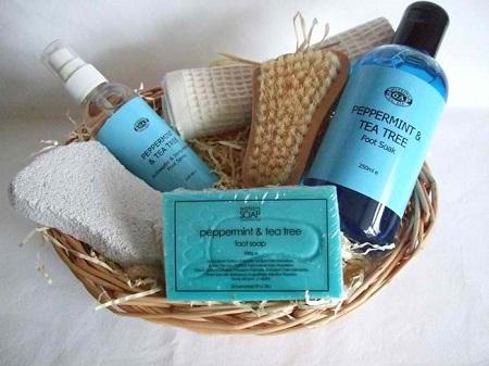 foot care gift basket ideas for nurses