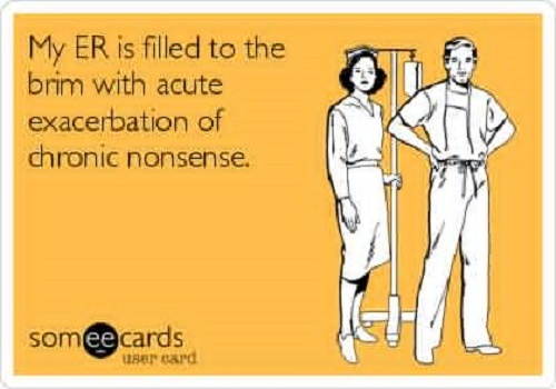 funny ER nursing quotes
