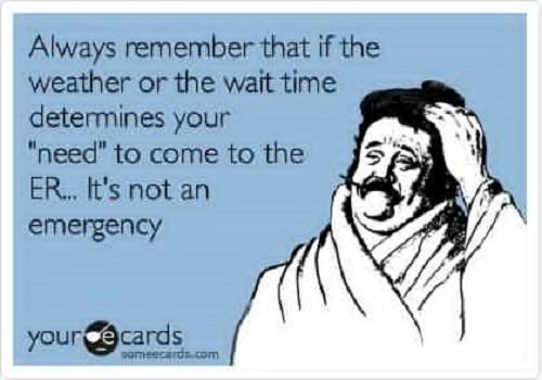 funny ER nursing quotes