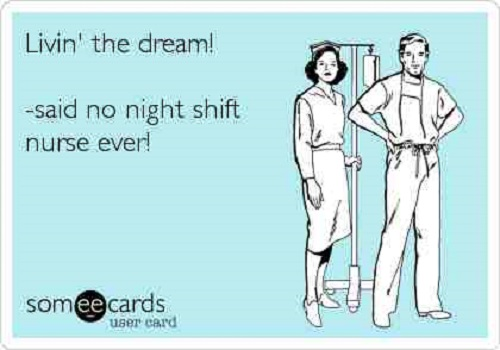 funny quotes for night shift nurses