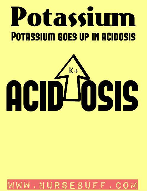 potassium nursing mnemonics