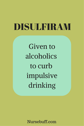 Disulfiram Side Effects With Alcohol