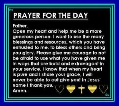 daily nursing prayer