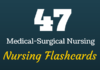 medical surgical nursing flashcards