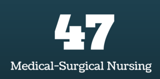 medical surgical nursing flashcards