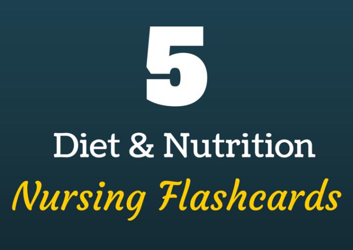 nutrition nursing flashcards