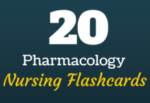 pharmacology nursing mnemonics