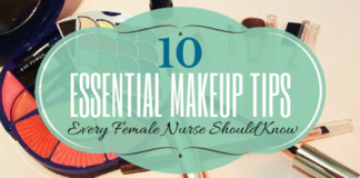 nurse makeup