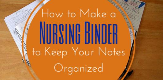 nursing binder