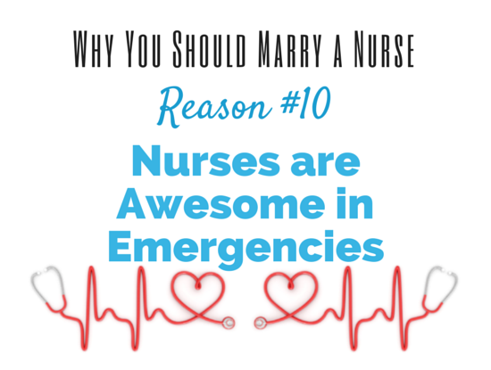 Reasons for dating a nurse