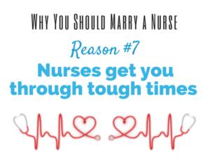 reasons to marry nurse