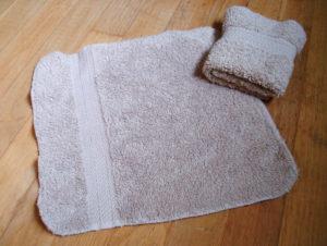 washcloth folding