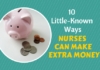 how to make extra money as a nurse