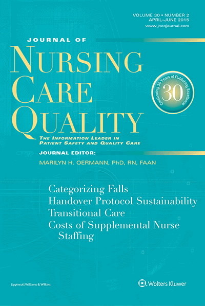 journal content upon control within nursing
