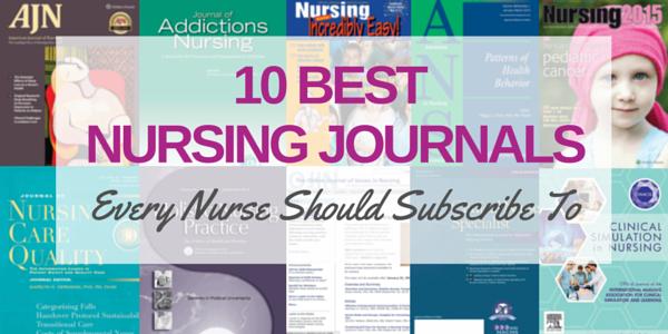nursing journals