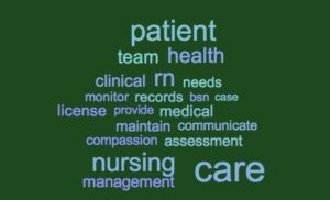 nursing job keywords