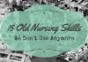 Old Nursing Practices