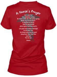 nurse prayer shirt