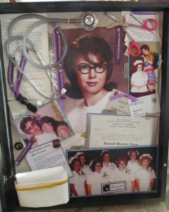 retired nurse shadow box