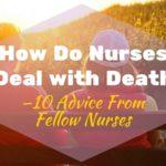 how do nurses deal with death