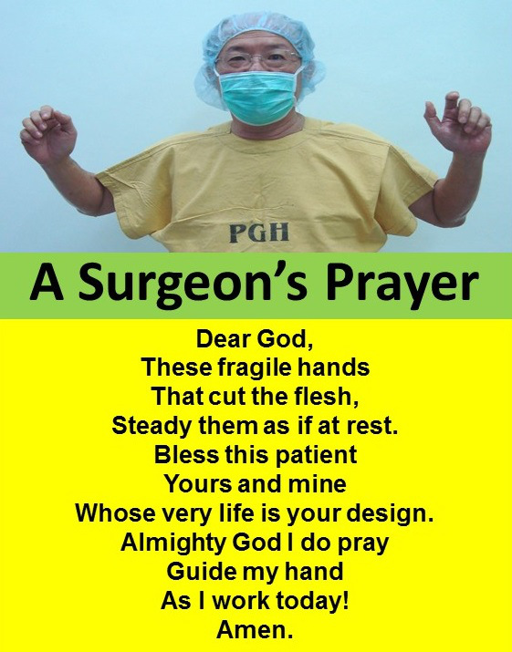 surgeon prayer