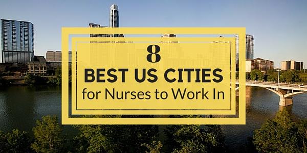 best cities for nurses
