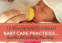 Outdated Baby Care Practices