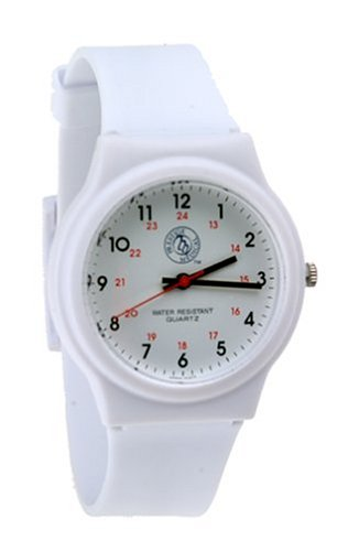 Prestige Medical White Scrub Watch